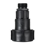 Adapter M64 x 4 for IBC-beholder med dobbelnippel